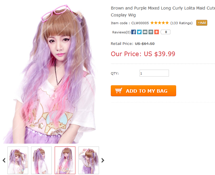 http://www.lolitadressesonline.com/brown-and-purple-mixed-long-curly-lolita-maid-cute-cosplay-wig-p-133.html