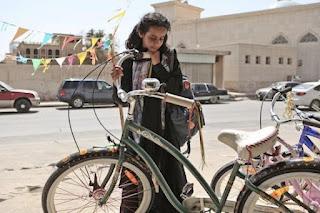 La bicicleta verde (Wajda) película árabe