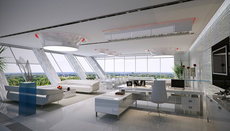 innovative and Unique Office Space Design