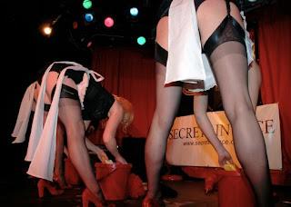Photograph of the London Burlesque Festival 2008