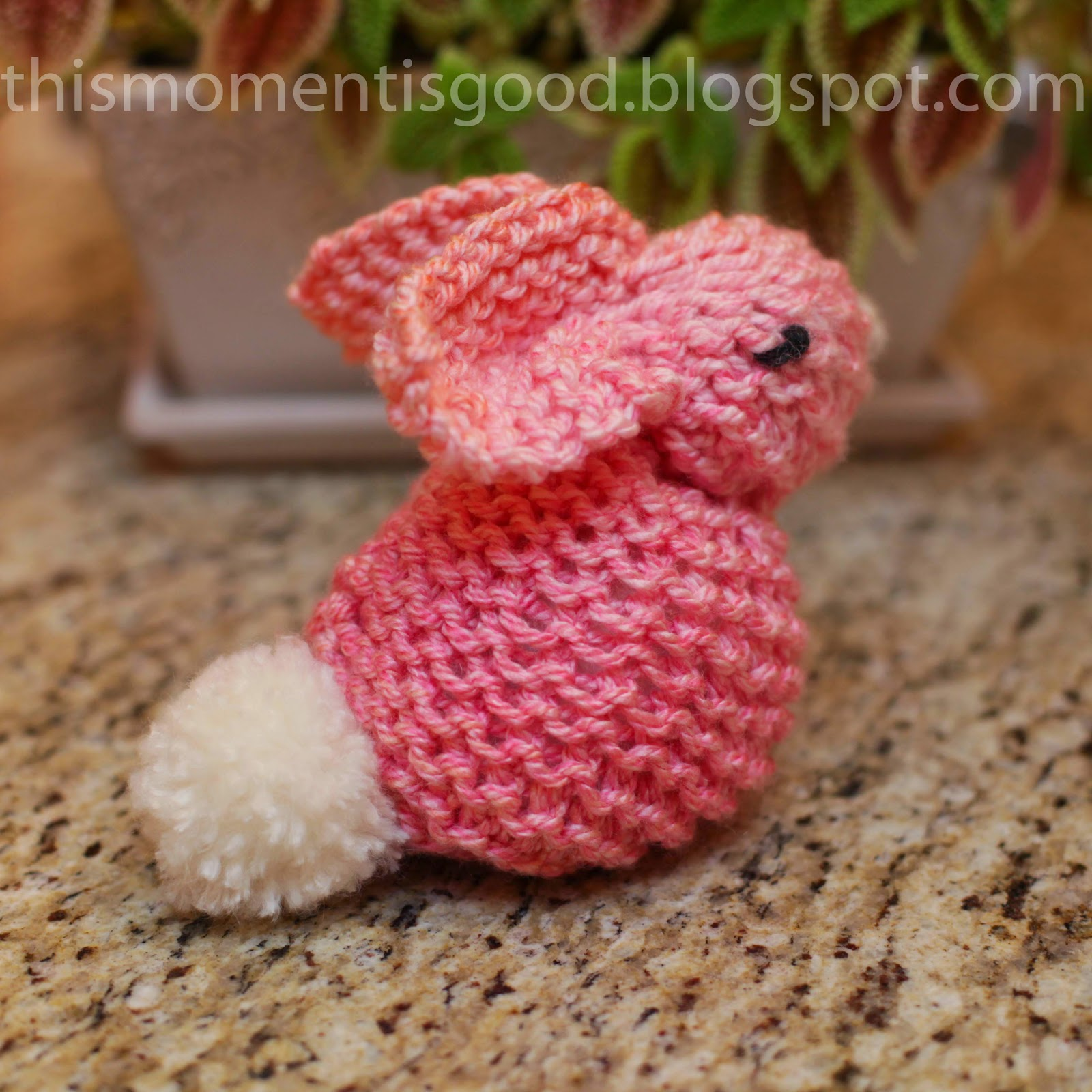 Loom knit bunny tutorial loom knitting by this moment is good loom knit bunny tutorial dt1010fo