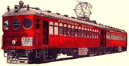 Red Electric Train