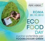 Faccio parte dei Foodblogger Green di Eco Food Day