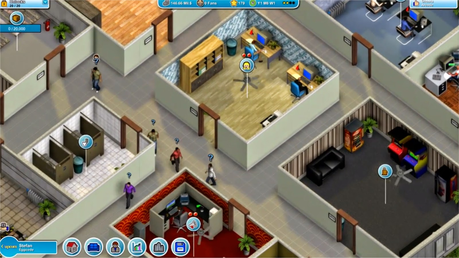 Mad Games Tycoon Worker