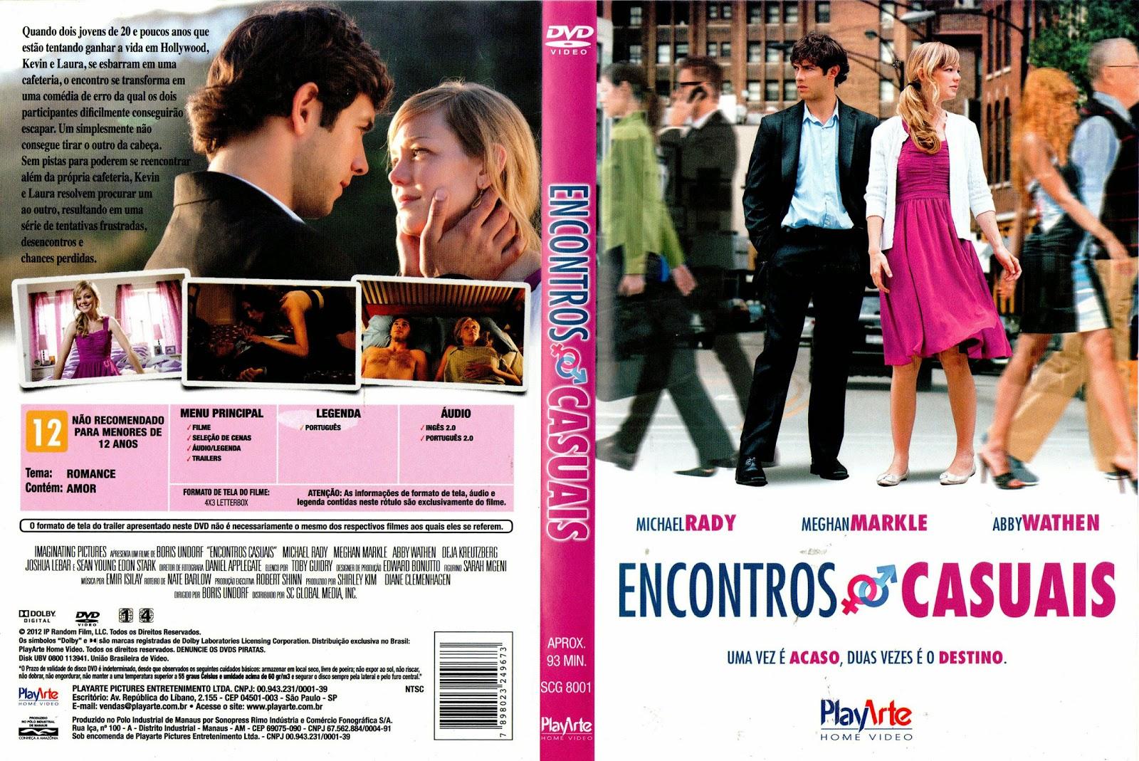 Capa DVD Encontros Casuais