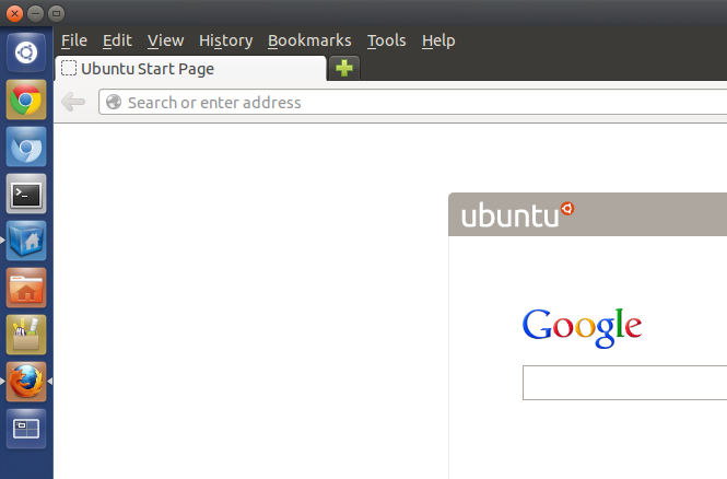 how to get the menu bar back in ubuntu