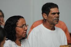 Padrinho Roberto Corrente e Madrinha Albertina Corrente