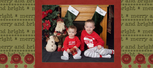 Cute babies Personalized Christmas Card