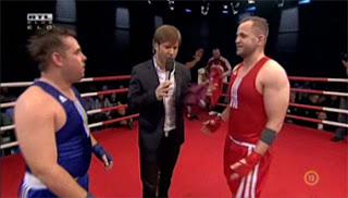 Péter és Attila ringben