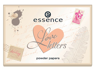 Essence Love Letters Trend Edition Powder Paper