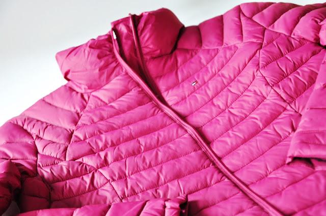 куртка tommy hilfiger фуксия