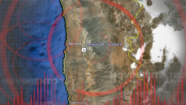 CHILE: SISMO DE 5,0 GRADOS RICHTER AFECTO A LA REGION DE TARAPACA, EL 25 DE NOVIEMBRE 2014