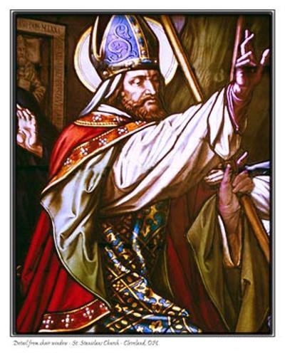 Kết quả hình ảnh cho thánh stanislaô giám mục tử đạo