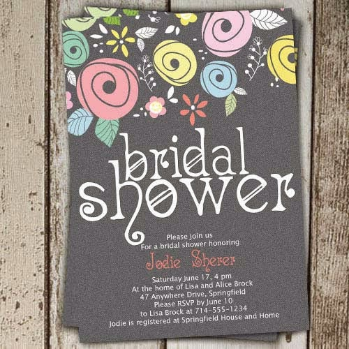 Attention: Bridal Shower Invitations -5