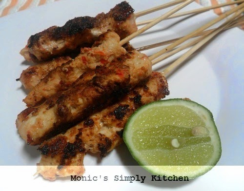 resep sate ampet ayam khas lombok