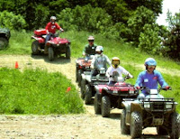 ATV 4x4 mountain rides