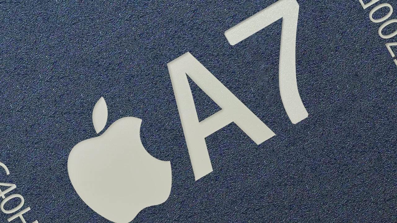 Apple A8 prosesor untuk fitur DRAM dalam satu paket?