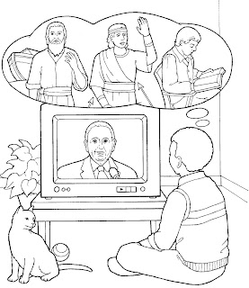 Primary music ideas help we thank thee o god for a for President monson coloring page