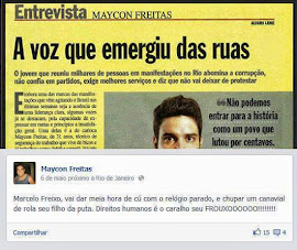 Revista Veja apresenta um demente como herói