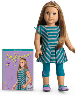 McKenna American Girl Doll 2012
