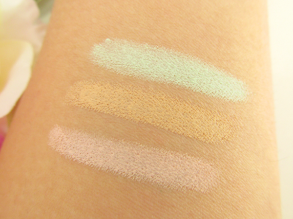 essence Say NO to Colour Correcting Concealer Dark Circles, Imperfections, Redness swatches