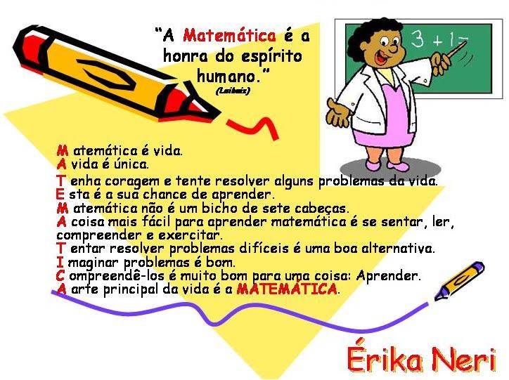 Matemática Ensino Fundamental * EE Prof. Cid de Oliveira Leite **