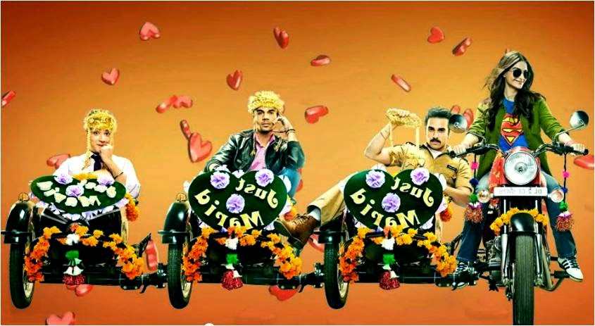 Dolly Ki Doli Trailer still featuring Sonam Kapoor and her three grooms