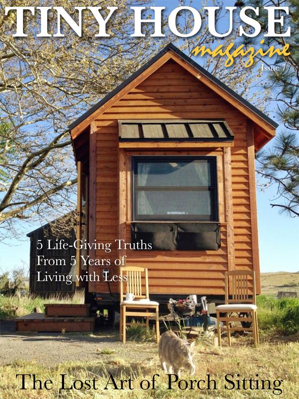 Tiny Yellow Teardrop Atma Travelear in Tiny House Magazine