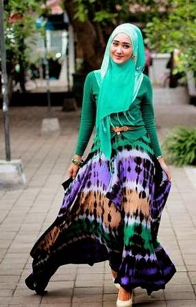 10 Koleksi Model Baju Muslim Dian Pelangi Terbaru