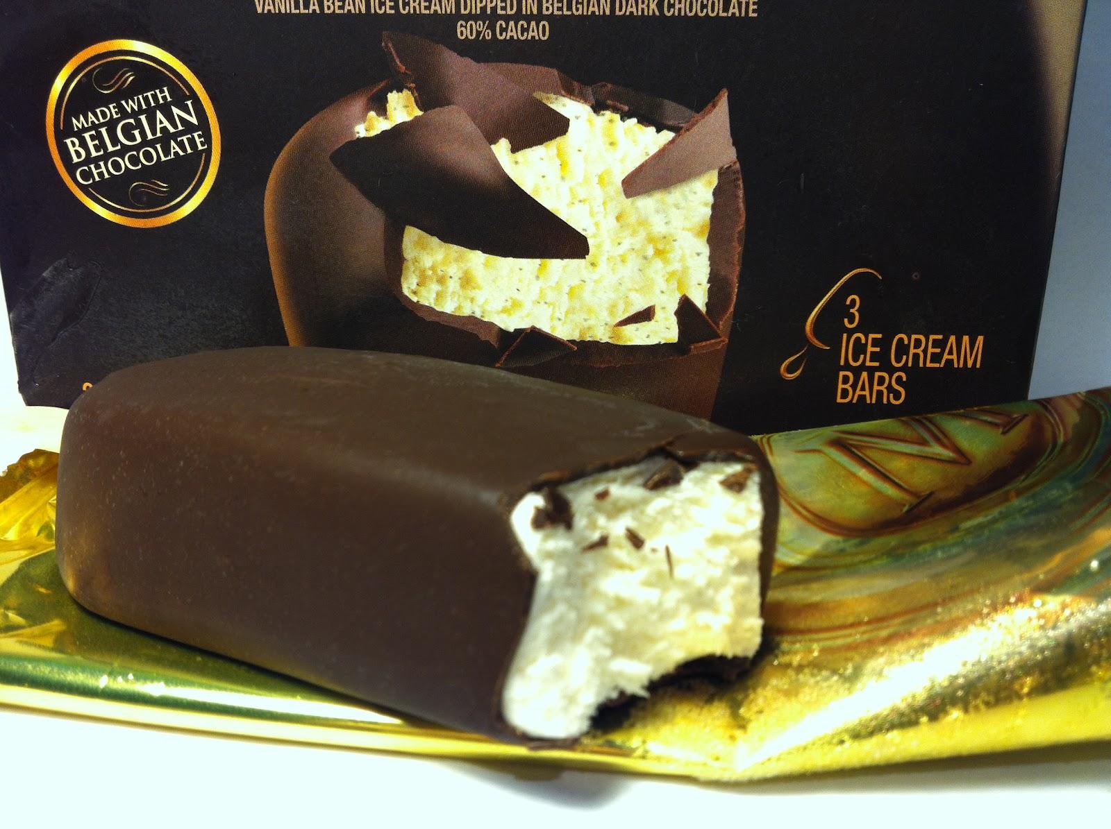 Crazy Food Dude: Review: Magnum Dark Chocolate Ice Cream Bar