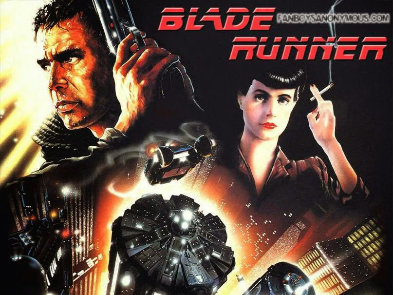 Blade Runner Poster Movie Art Cyberpunk Future Neo Noir