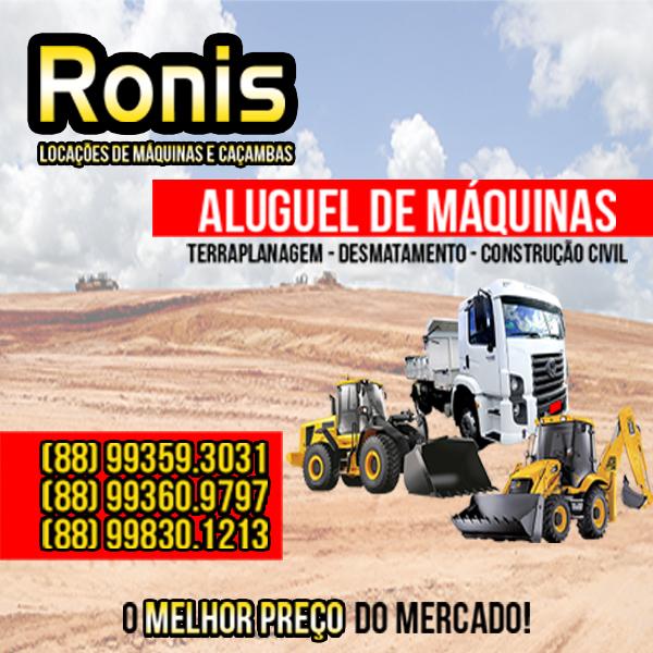 Ronis - Aluguel de Máquinas