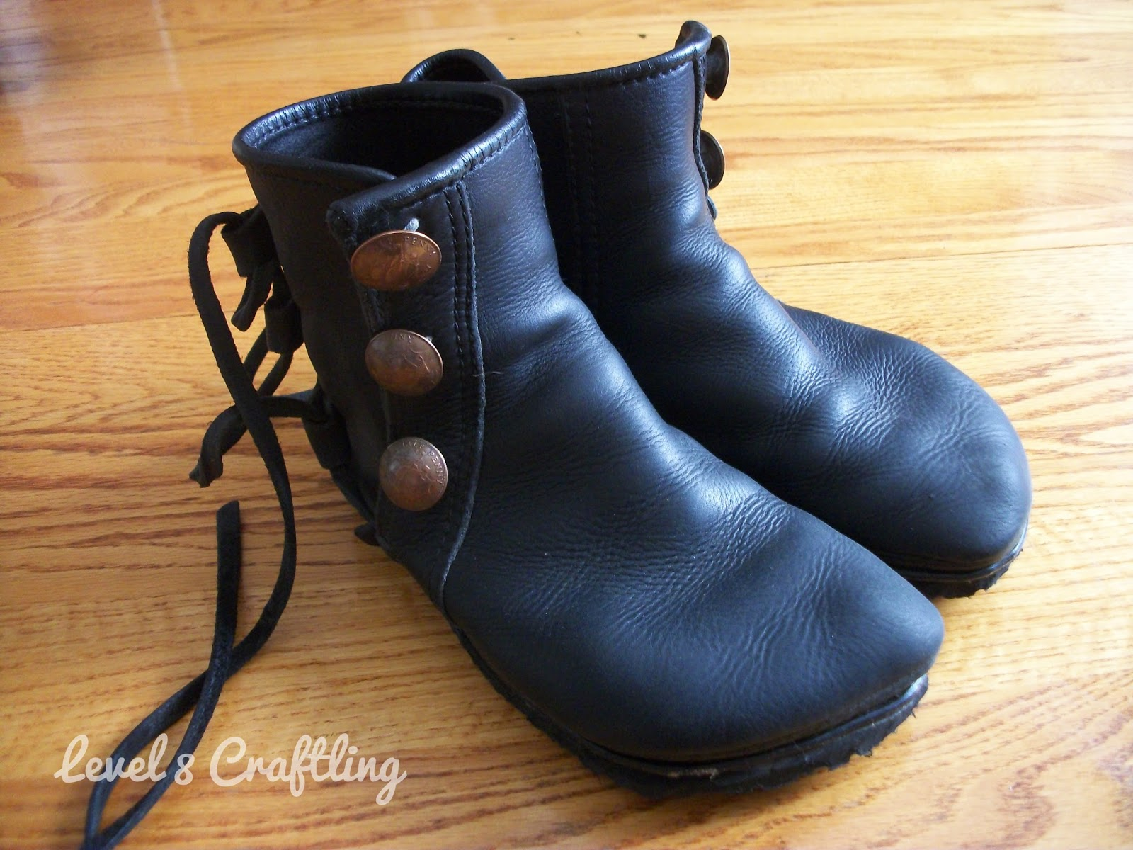 level 8 craftling resoling custom leather boots