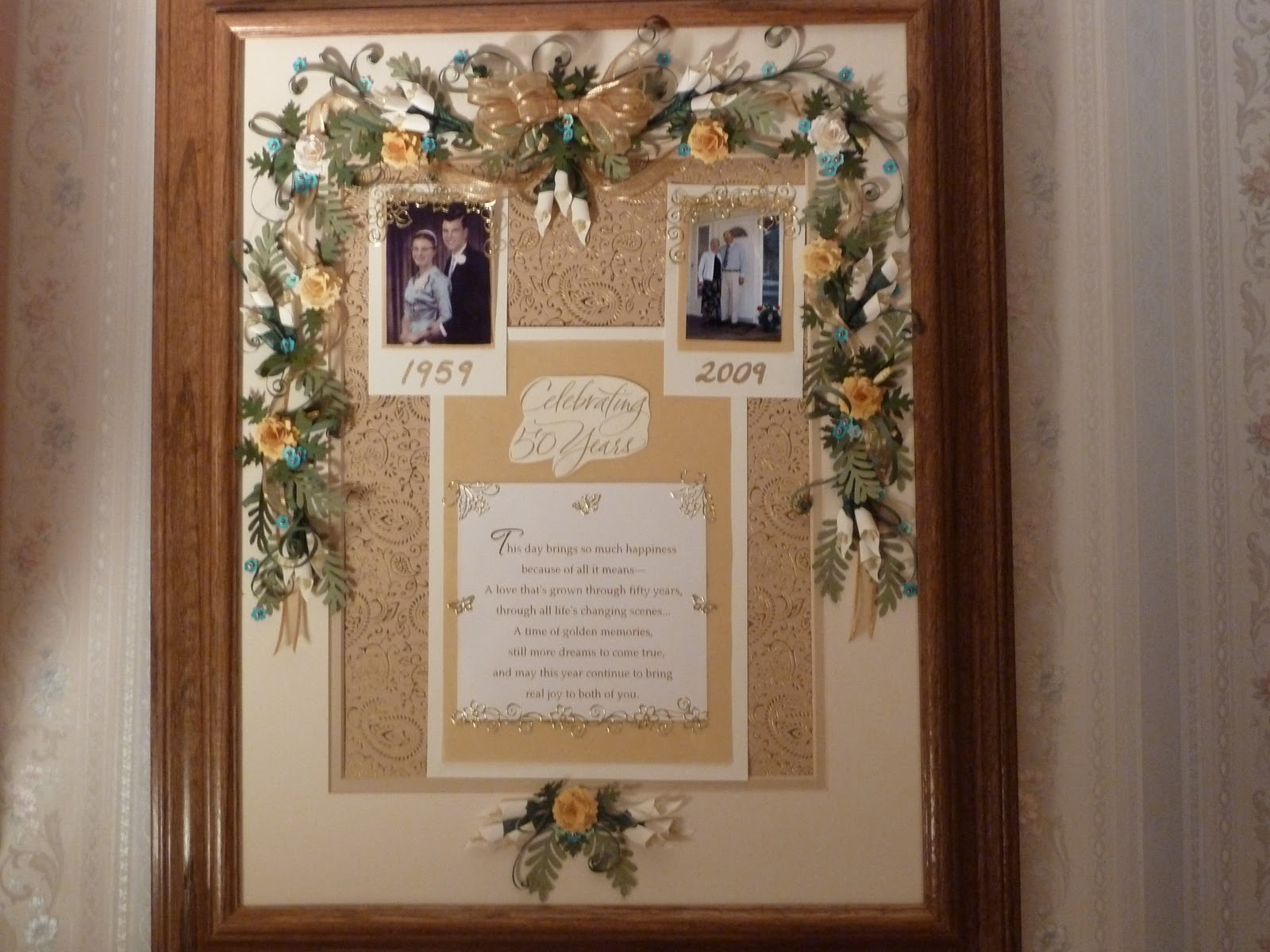 My corner of the world: 50th Wedding Anniversary Gift