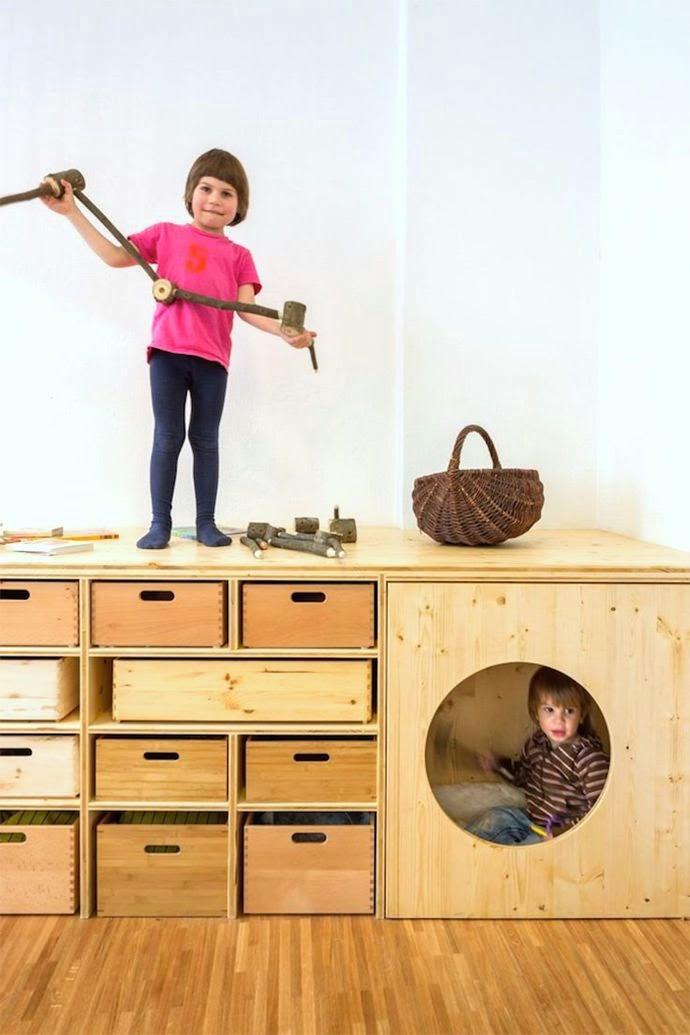 Bittelitens lille hjørne: ideer til barnerom