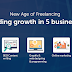 New age of freelancing: It's trending growth in 5 exclusive business areas