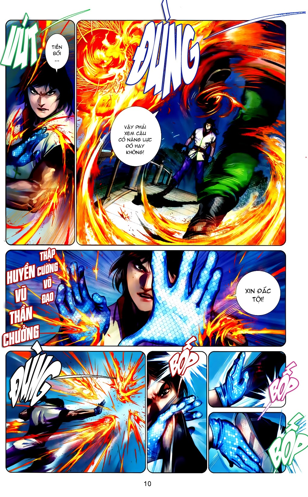 Phong Vân Chap 663 - Trang 10