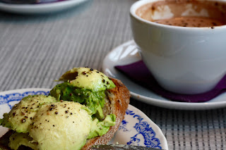 Avocado on Toast and Liquorice Hot Chocolate