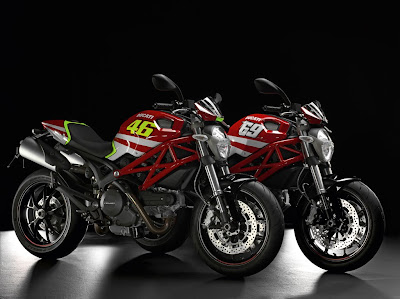 Ducati Monster MotoGP 2011