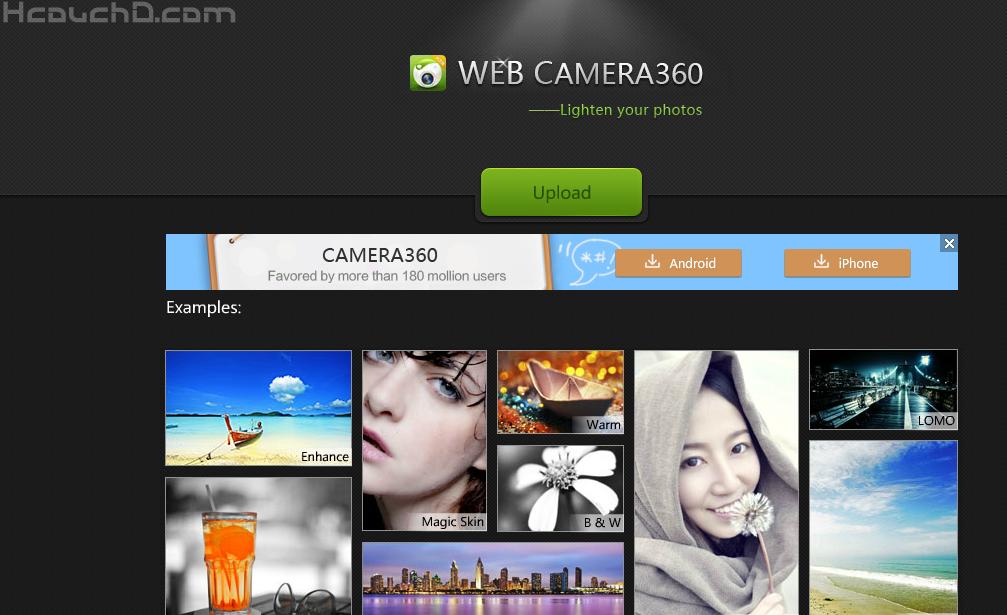 برنامج camera360