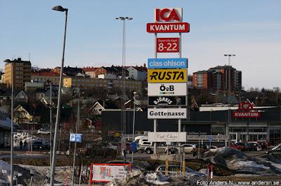 Kiruna, shopping, affärer