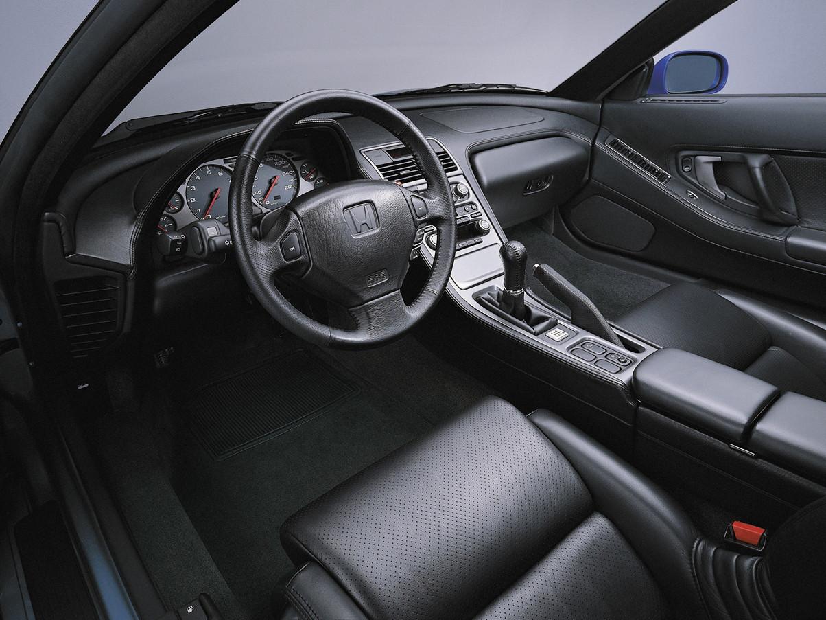 Honda NSX japoński supercar sportowy samochód kultowy V6 RWD wnętrze interior 日本車 ホンダ アキュラ