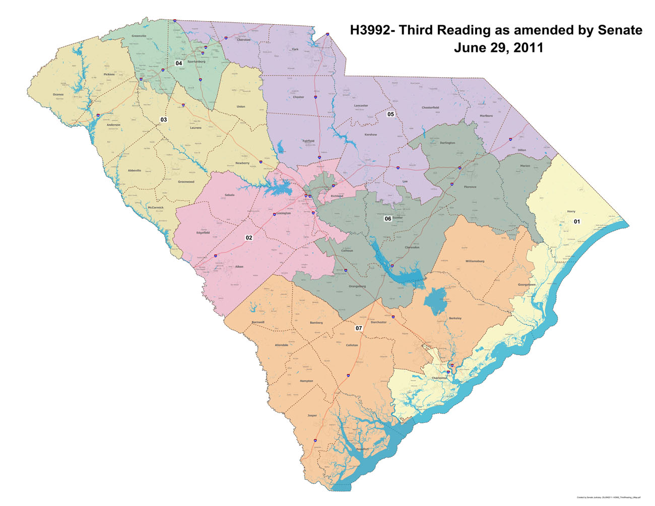 Blogland of Earl Capps: Both redistricting plans will shiftbalance of beaufort county
