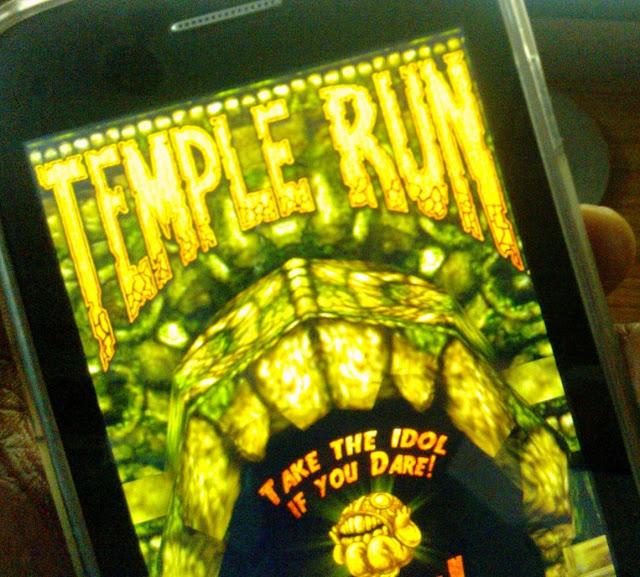 temple run on windows phone 8
