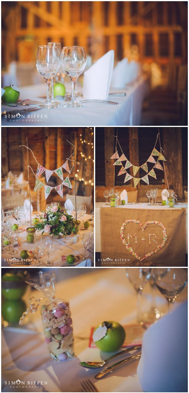 Wedding details at Blackthorpe Barn