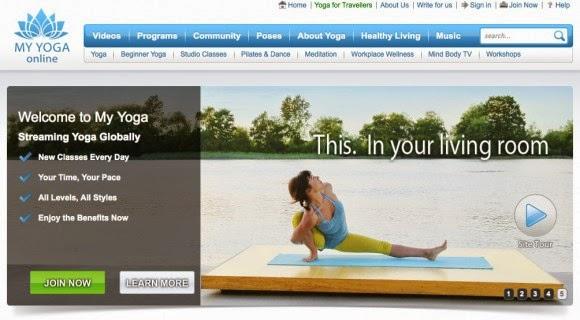My Yoga Online App