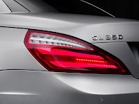 All New Model 2013 Mercedes-Benz SL 350 Edition 1 Roadster Cabriolet Press Official Picture Image Photo Media tail light rear