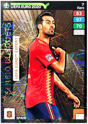 Panini Adrenalyn XL Road to Euro 2020 United Nations League nº 7 Sweden