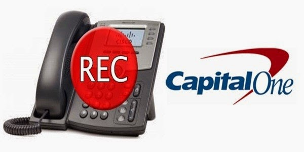 Capital One Telephone Call Recording Settlement