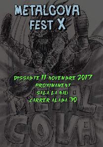 Metalcova X edición